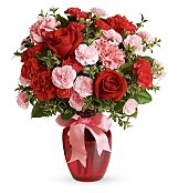 Flower Bouquets: Dance with Me Bouquet with Red Roses
