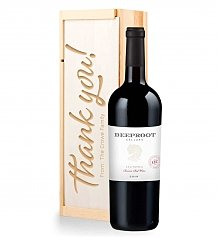Personalized Wine Gifts: Personalized Thank You Wine Crate