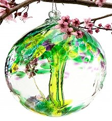 Home Decor: Fond Memories Ornamental Glass Globe